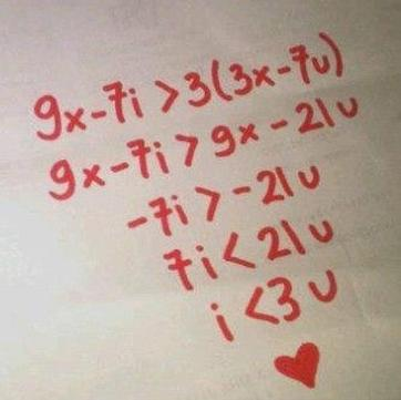 math freak love equation